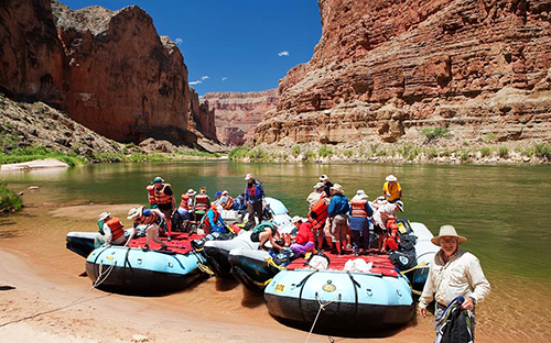 Rafting the Grand Canyon Full Canyon