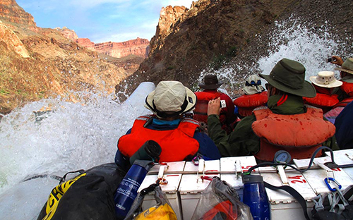 Wild White Water Rafting in the Grand Canyon