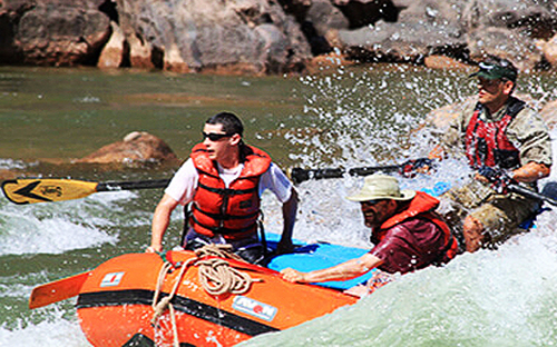 White Water Rafting fun through Labyrinth Canyon